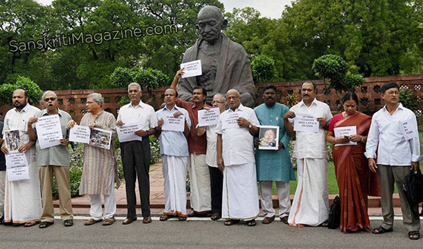 lef-protest-india