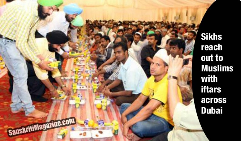 Sikhs reach out to Muslims with iftars across Dubai