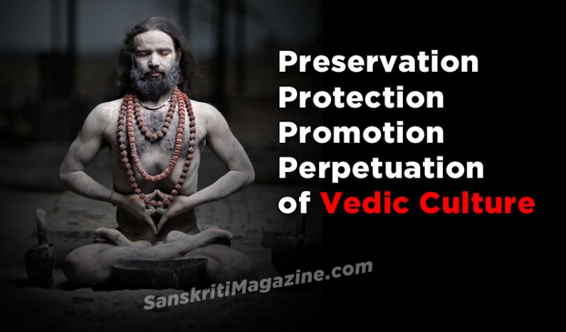 Preservation, Protection, Promotion and Perpetuation of Vedic Culture