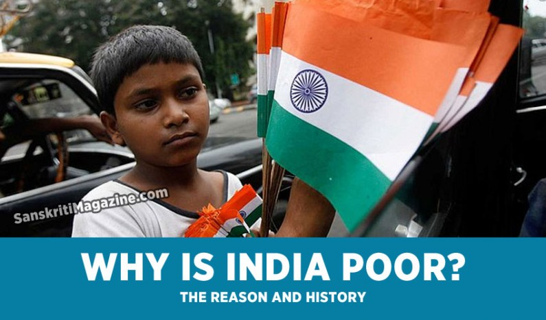 Reasons behind India's poverty
