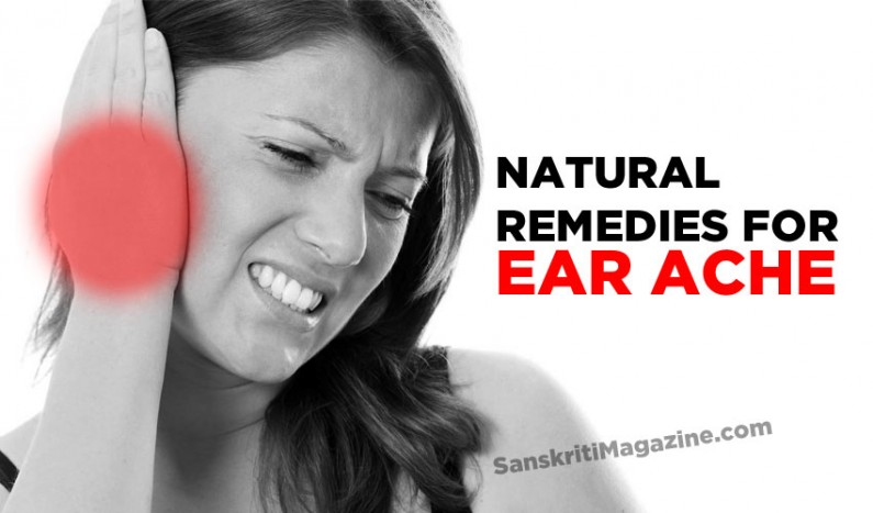 Natural remedies for Ear Ache