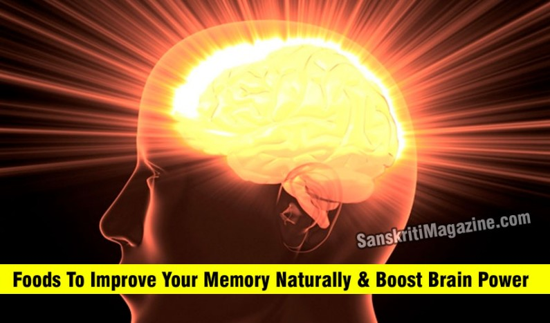 Foods To Improve Your Memory Naturally and Boost Brain Power