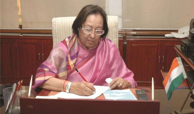 Hindu is India's National identity: Najma Heptullah