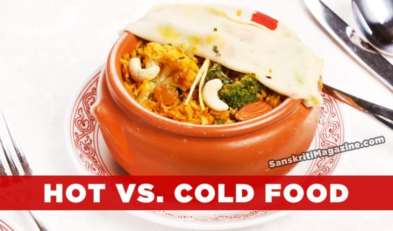 Hot food vs. Cold food