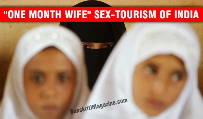 """""""One month wife"""" sex tourism of India"""