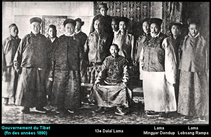 Dalai Lama, Mingyar Dondup, Lobsang Rampa