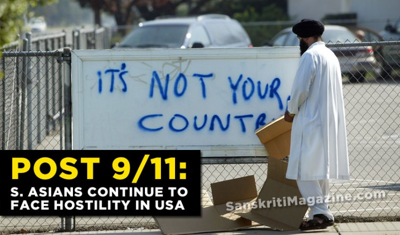 Post 9/11:  Thirteen years later South Asians continue to face hostility in USA