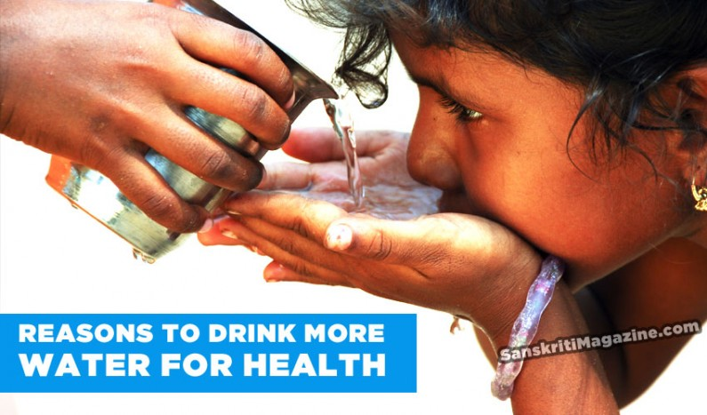 Reasons to drink more water for health