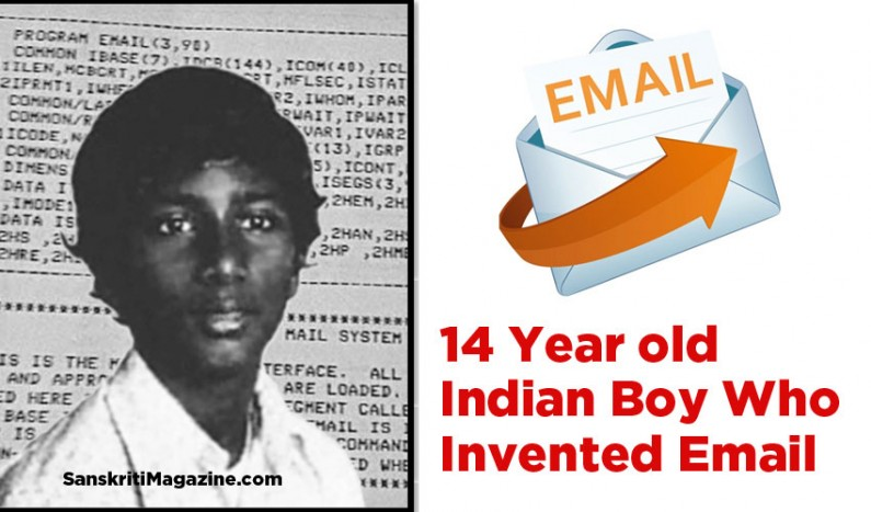 14 Year old Indian Boy Who Invented Email