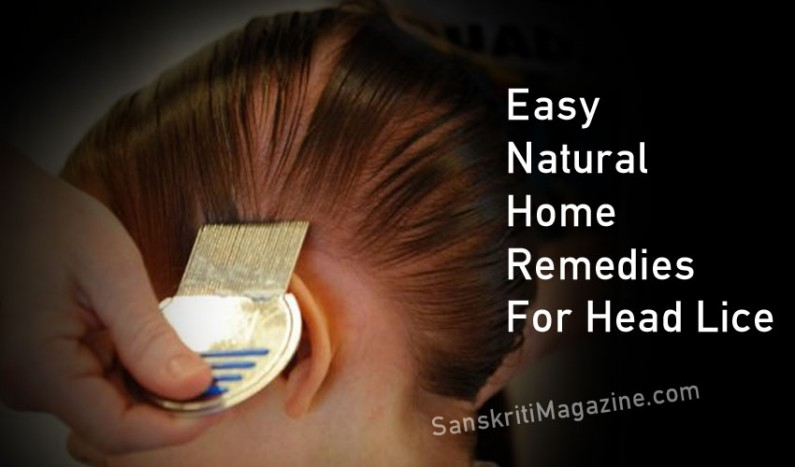 Easy Natural Home Remedies For Head Lice