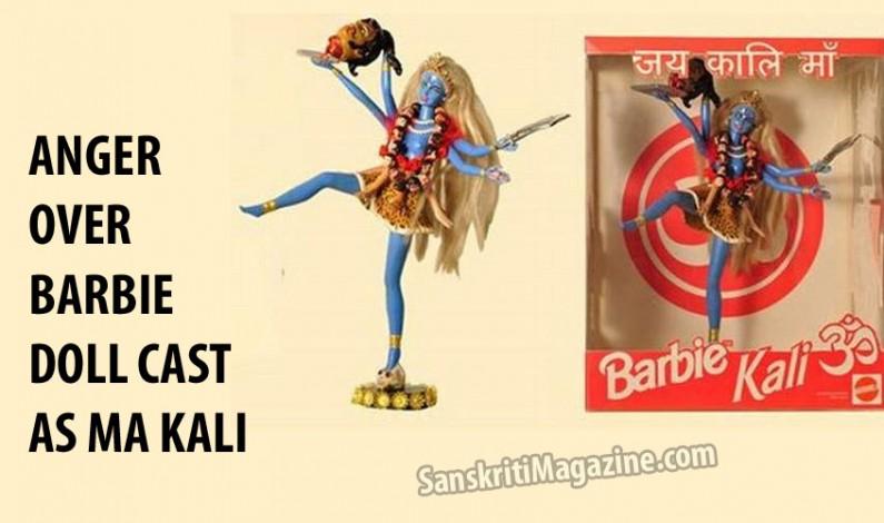 Anger over Barbie doll cast as Hindu goddess Kali