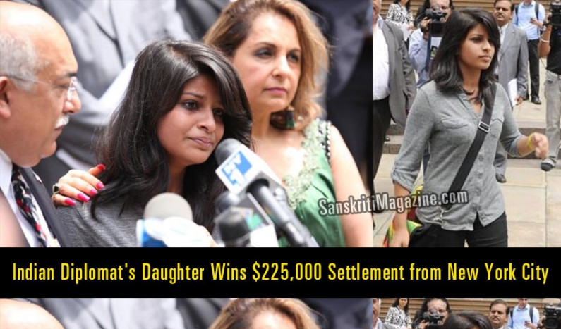 Krittika Biswas Indian Diplomat's Daughter Wins $225,000 Settlement from New York City