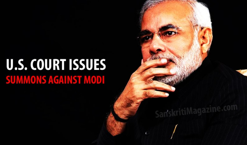 U.S. federal court issues summons against Modi