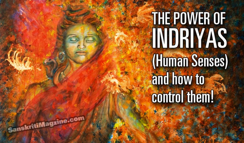 The Power of the Indriyas (Human Senses) and how to control them