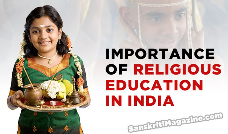Importance of religious education in India