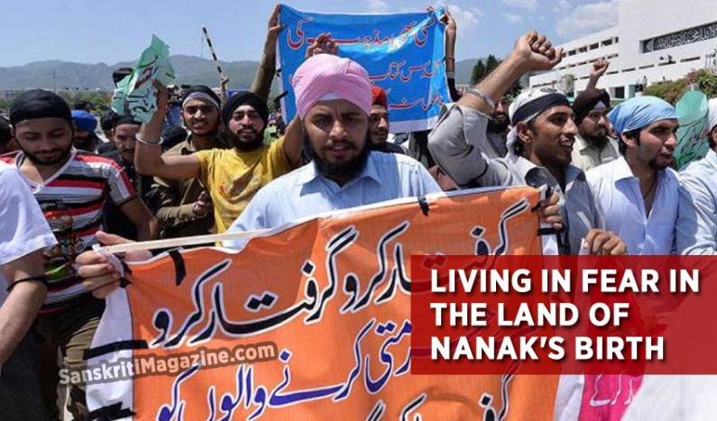 Living in fear in the land of Nanak's birth