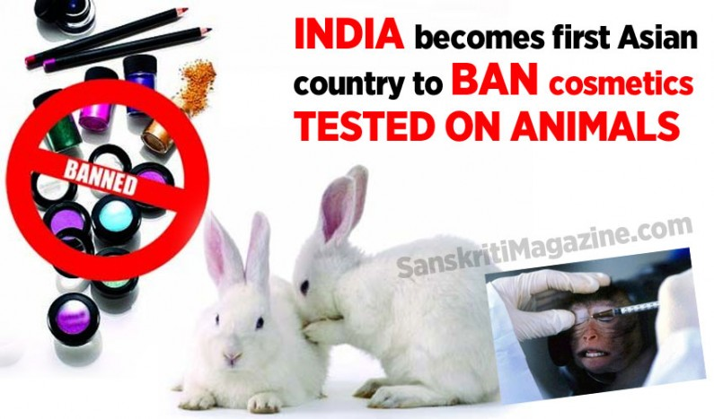 India becomes first Asian country to ban cosmetics tested on animals