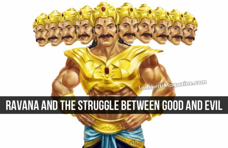 Ravana and the struggle between good and evil