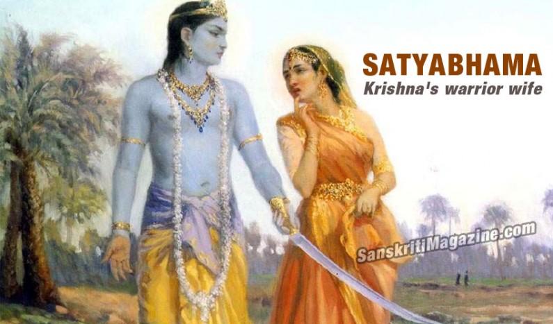 Satyabhama:  Krishna's warrior wife