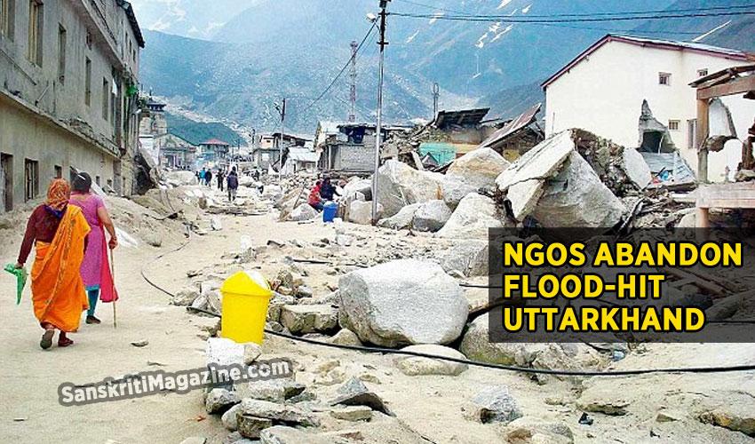 NGOs abandon Uttarkhand