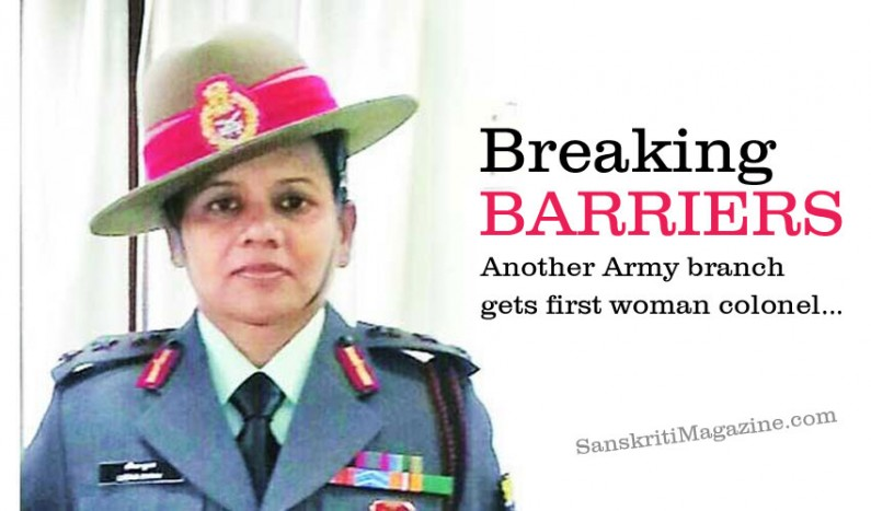Breaking barriers: another Army branch gets first woman colonel