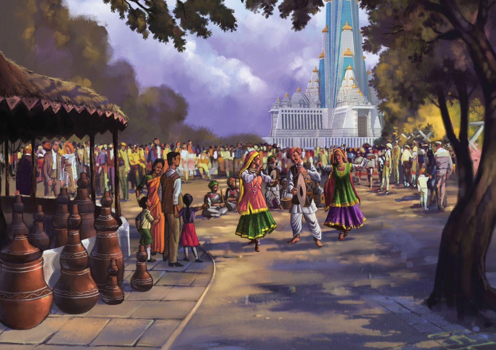 Vrindavan Chandrodaya Mandir