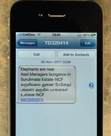 elephant sms