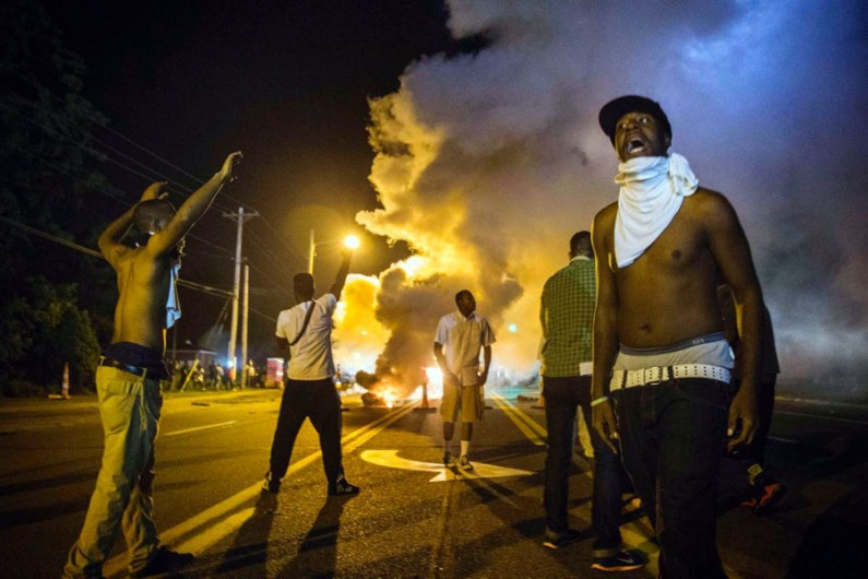 Indian-American stores brace as Ferguson erupts into violence