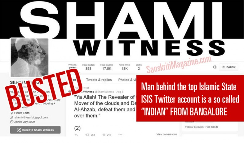 Indian Radical Muslim from Bangalore behind top ISIS Twitter account