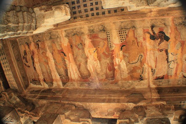 Art-work-at-Lepakshi-temple