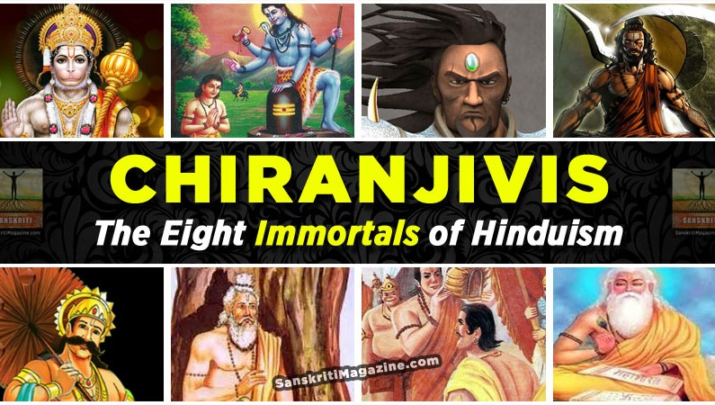 Chiranjivis:  The Eight Immortals of Hinduism