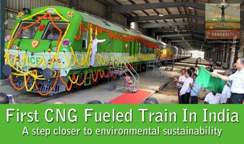 Railways starts first train that chugs on CNG