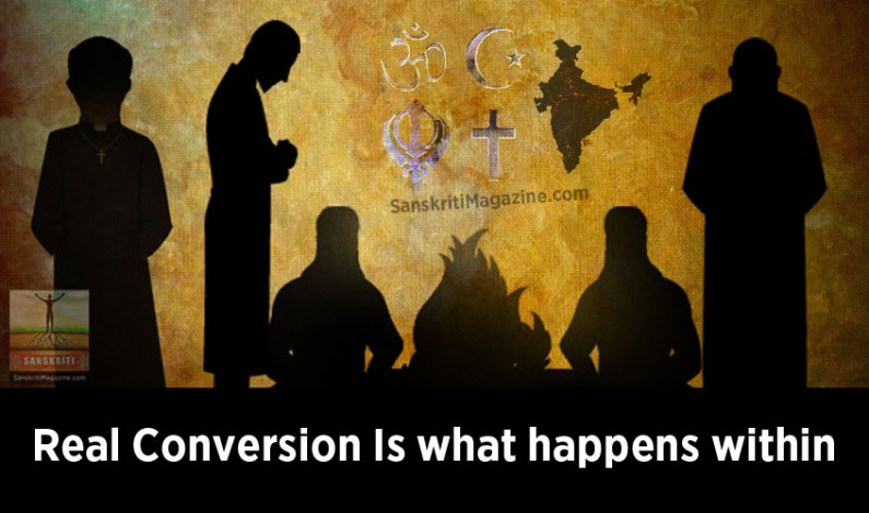 Real Conversion Is what happens within