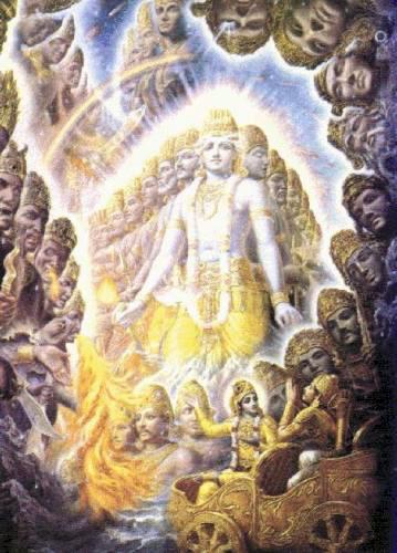 Virat roop of krishna