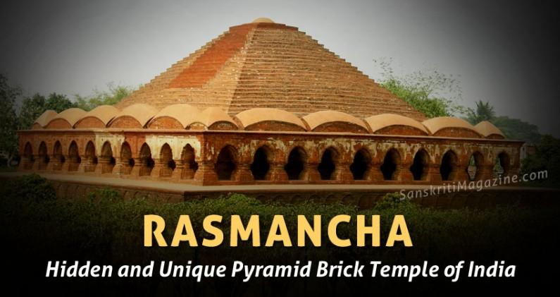 Rasmancha – Unique Pyramid Brick Temple of India