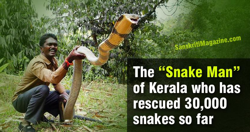 snakeman-kerala