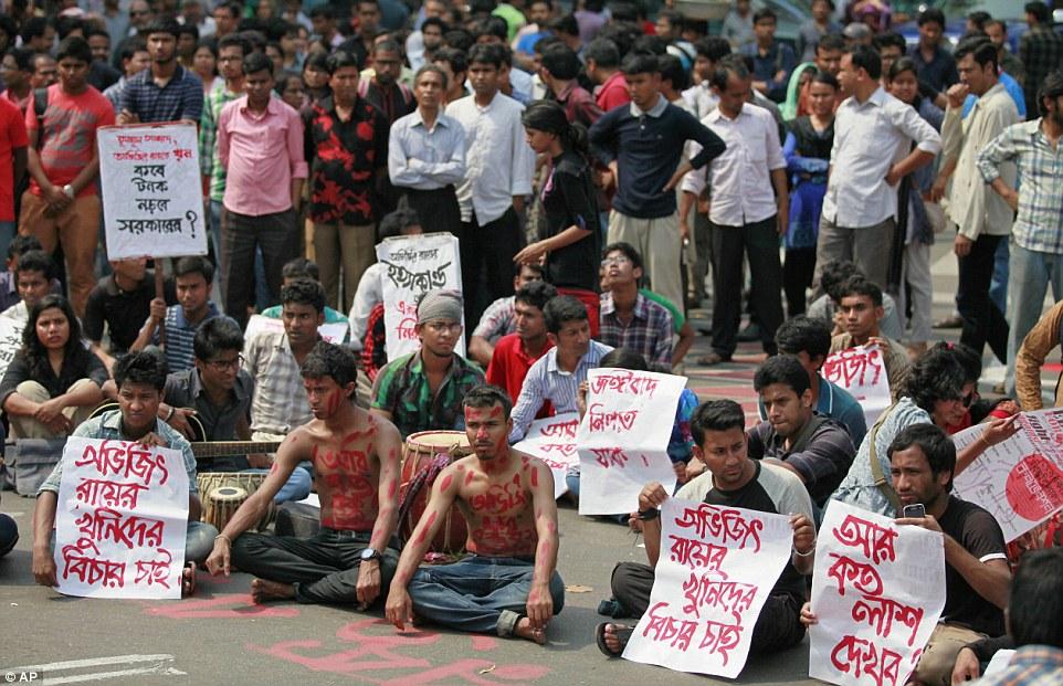 Outrage: Bangladeshi