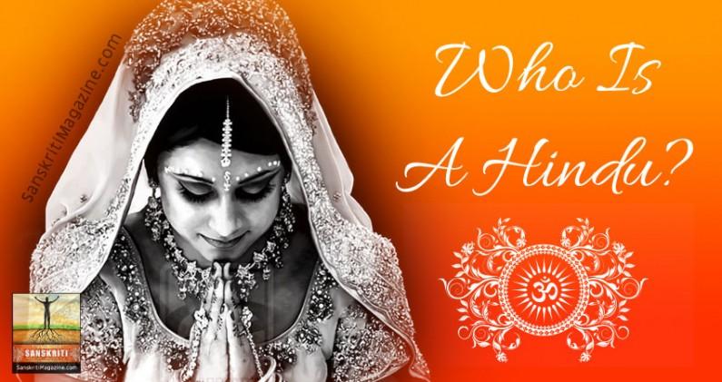 Who Is A Hindu?