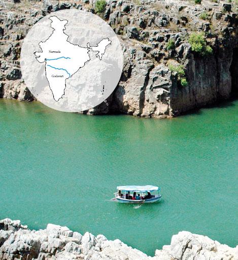 Narmada and Godavari