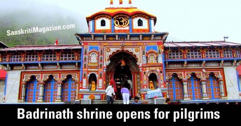 Badrinath shrine opens for pilgrims