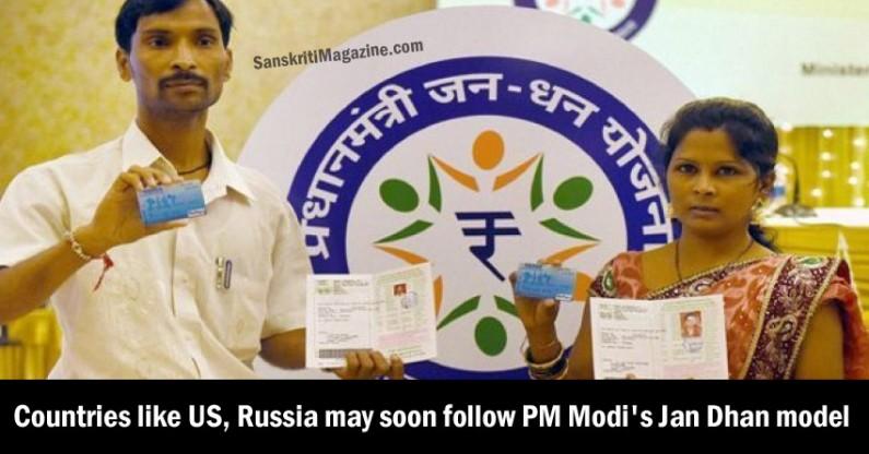 Countries like US, Russia may soon follow PM Modi's Jan Dhan Yojana model