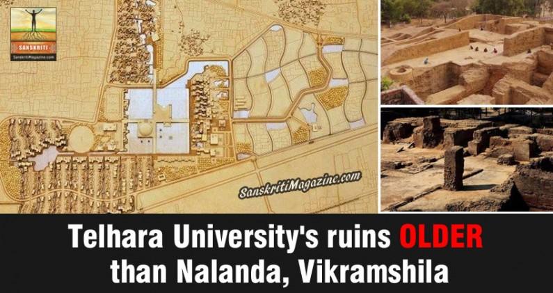 Telhara University's ruins older than Nalanda, Vikramshila