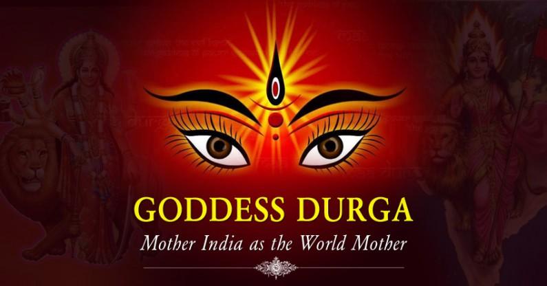 Goddess Durga: Mother India as the World Mother