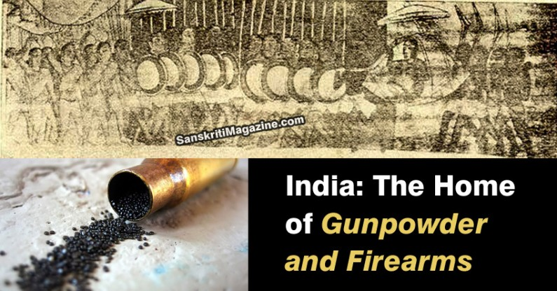 India: The Home of Gunpowder and Firearms