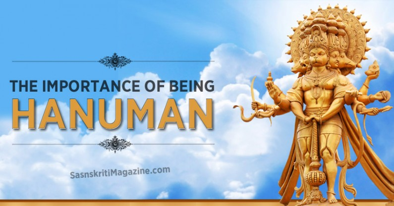 The Importance of being Hanuman