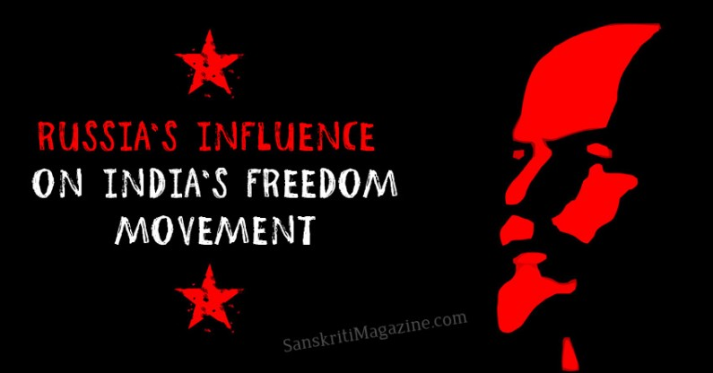 Russia's influence on India's freedom movement
