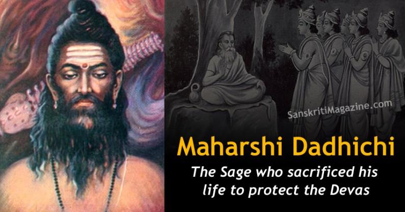 Dadhichi: The Sage who sacrificed his life to protect the Devas