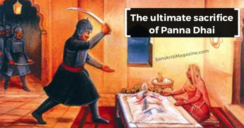 The ultimate sacrifice of Panna Dhai