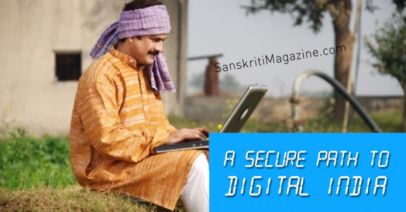 A Secure Path To Digital India