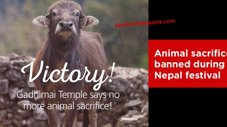 VICTORY – Animal sacrifice banned during Gadhimai festival in Nepal